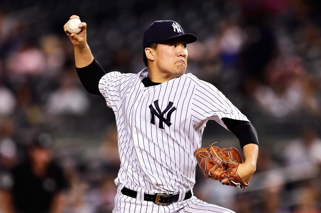 at Yankee Stadium on September 8, 2015 in New York City.