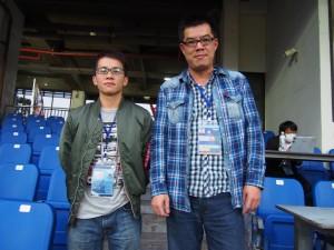 謝さん(右)王さん(左)