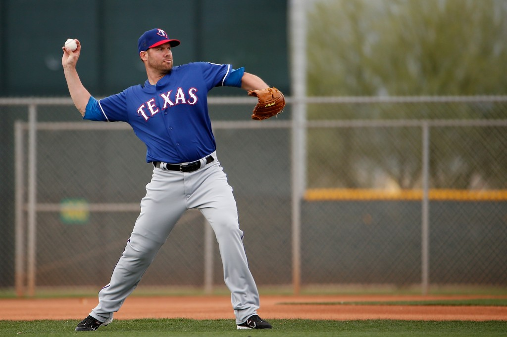 Texas Rangers Workout