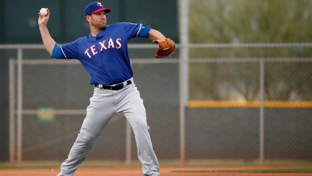 Texas Rangers Workout