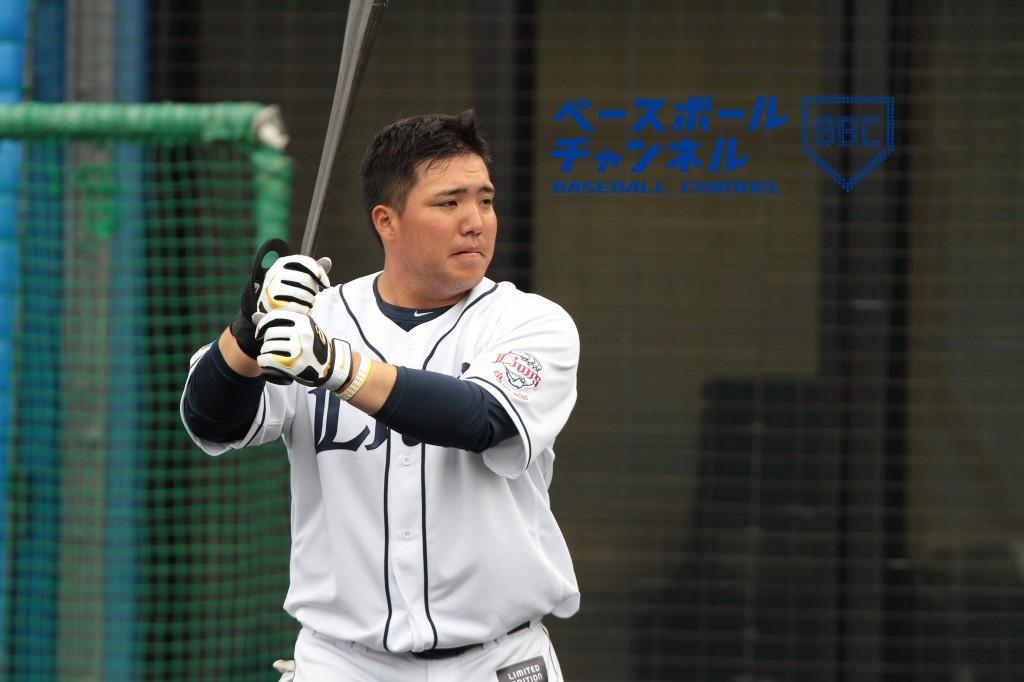 """初の二けた本塁打をマークした""""おかわり2世""""山川穂高"""
