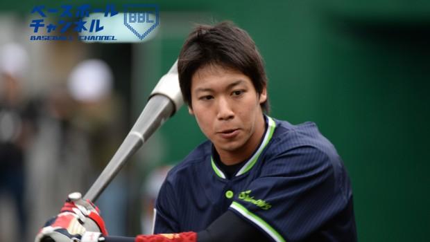 ヤクルト・山田は9月6日のDeNA戦で30盗塁を達成した。