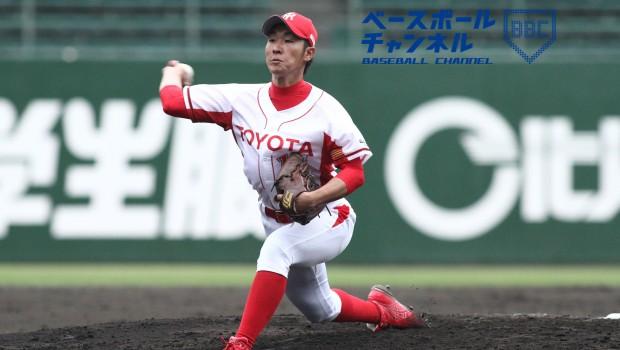 最高殊勲選手賞の藤田純基投手