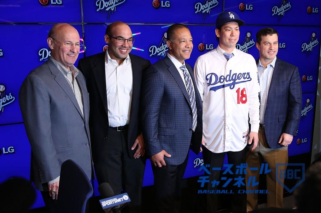 Los Angeles Dodgers Introduce Kenta Maeda